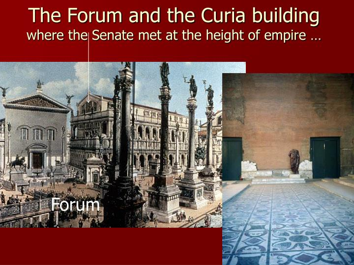 The Forum and the