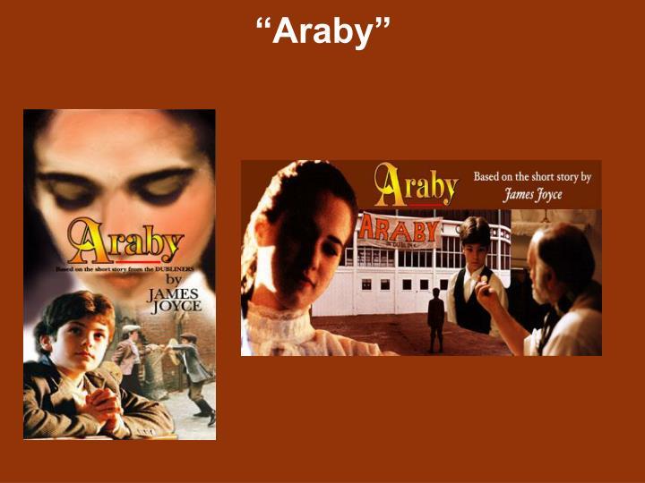 james joyce araby setting