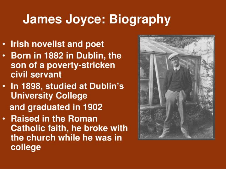 james joyces araby essay Araby essay  araby james joyce was born in dublin james joyce was considered to be one of the most influential writers in the early 20th century.