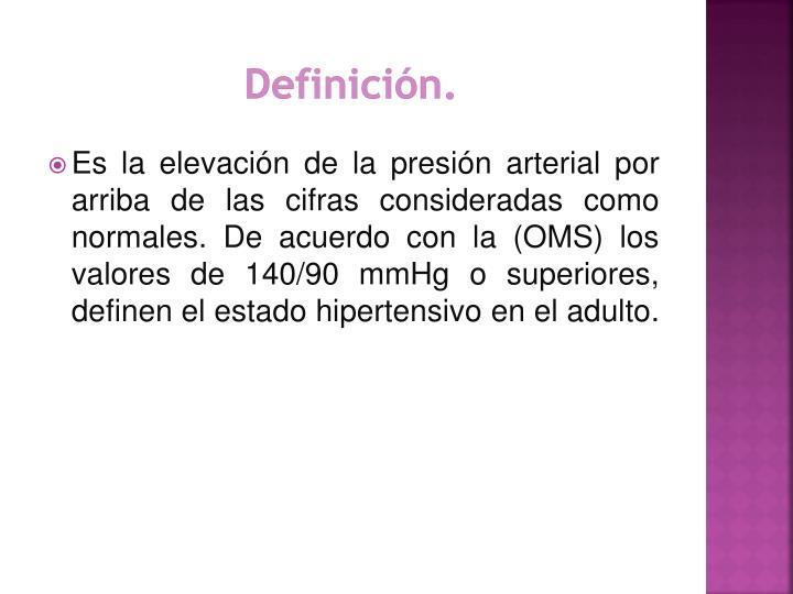 PPT - HIPERTENSIÓN ARTERIAL PowerPoint Presentation - ID..