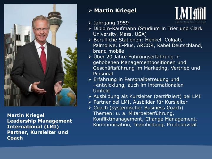 Martin Kriegel