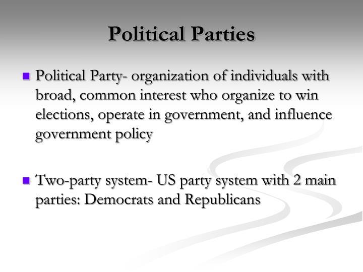 Political parties1