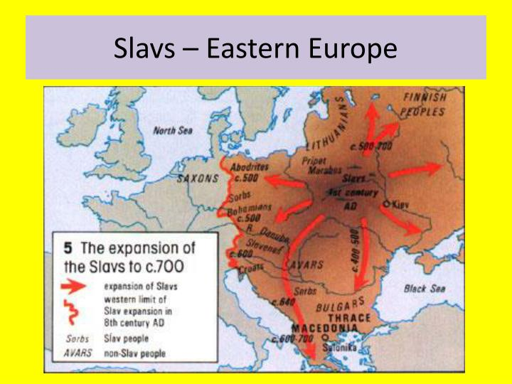 Slavs – Eastern Europe