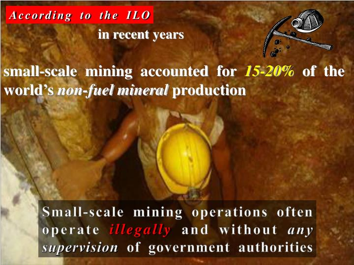 According to the ILO