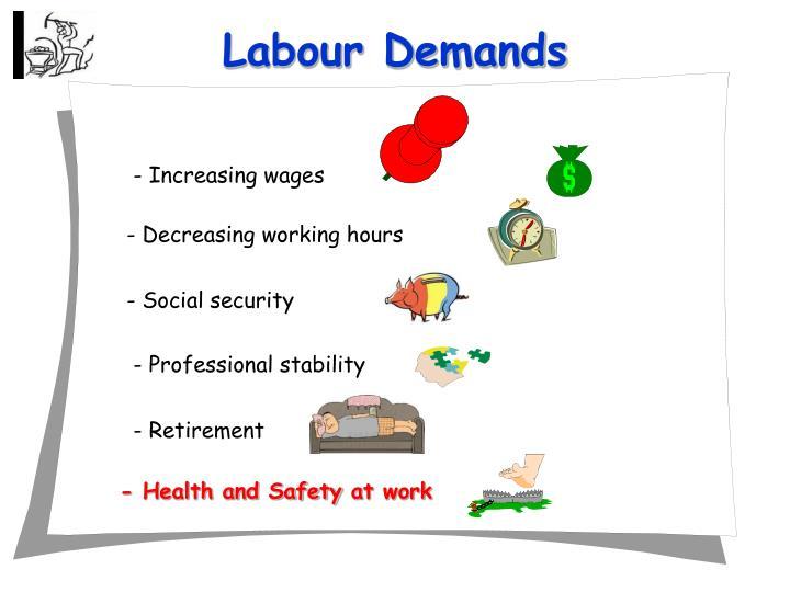 Labour Demands