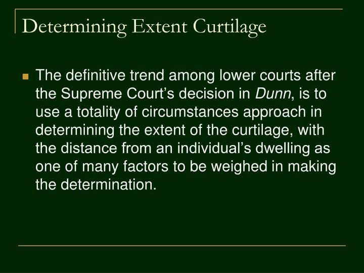Determining Extent Curtilage