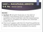 saez v macapagal arroyo g r no 183533 20123