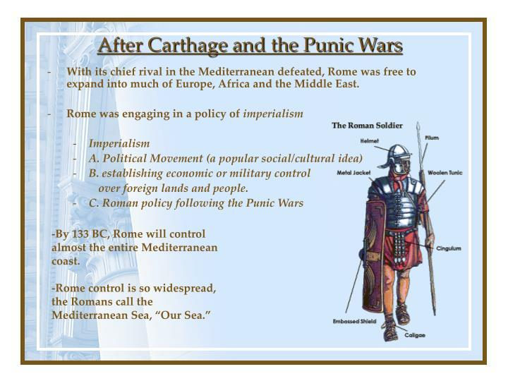 After carthage and the punic wars