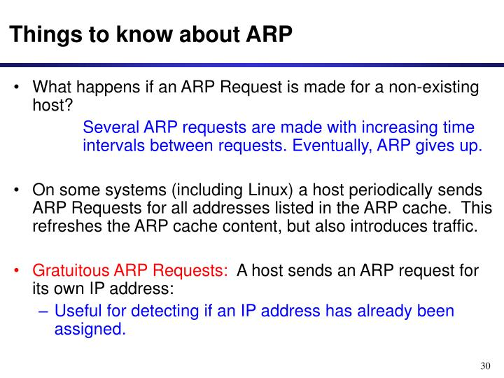 Things to know about ARP