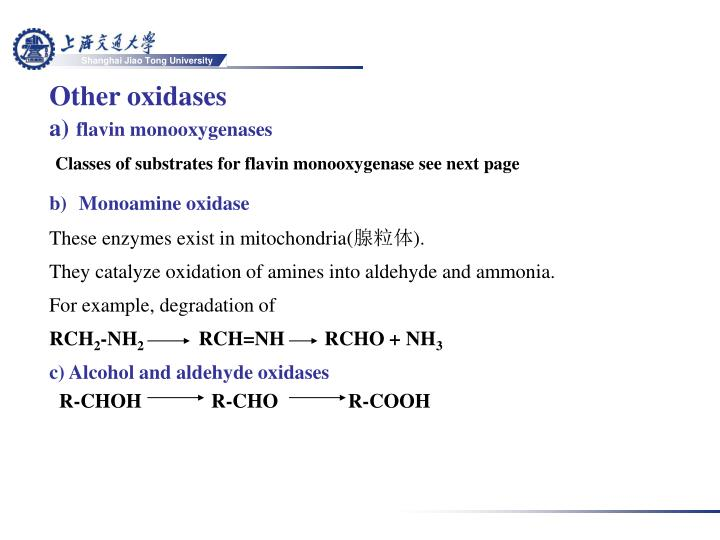 Other oxidases