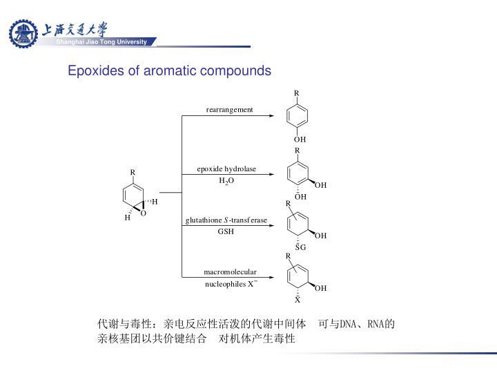 Epoxides of aromatic compounds