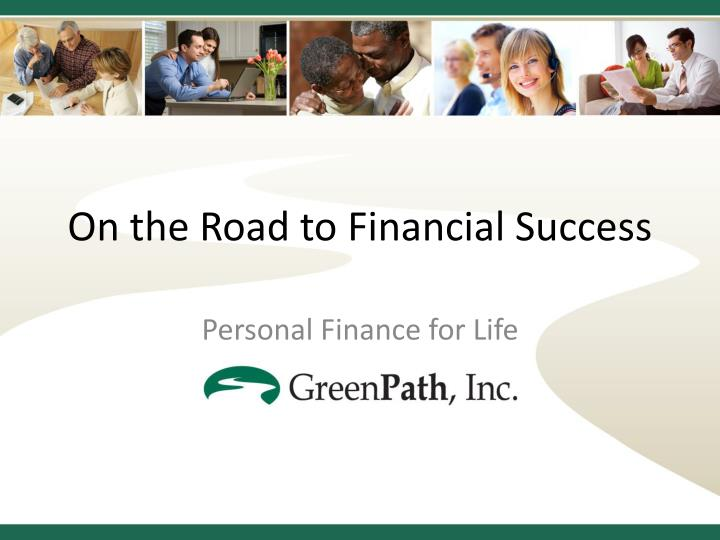 on the road to financial success n.