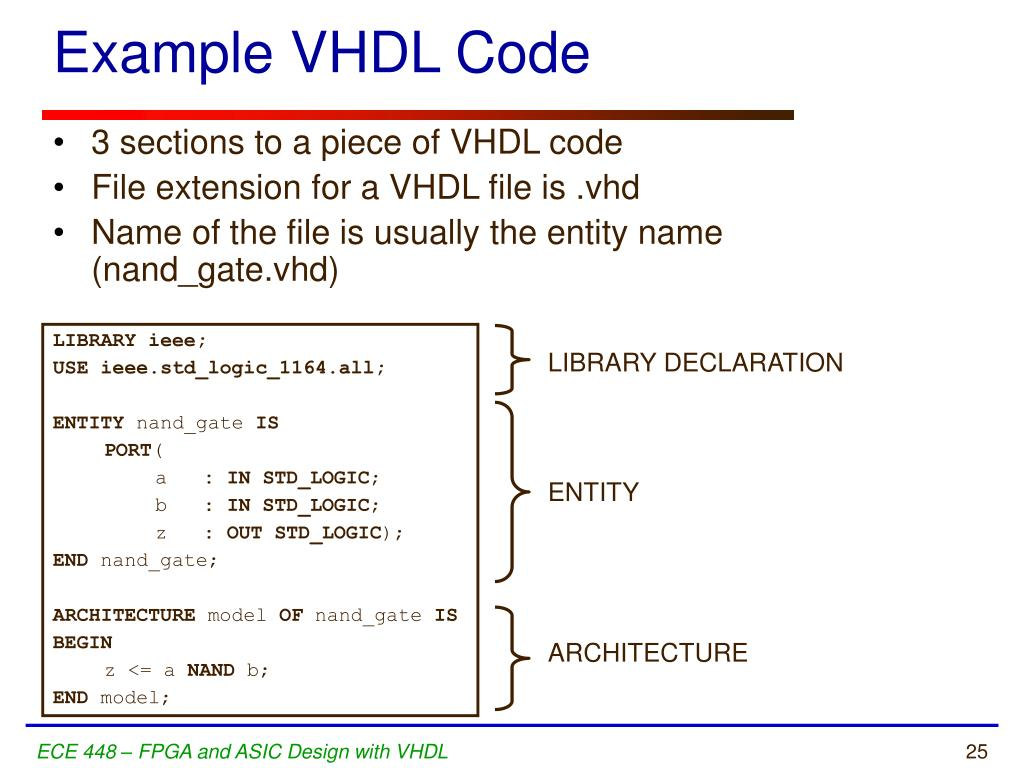 PPT - VHDL Refresher PowerPoint Presentation - ID:5387177