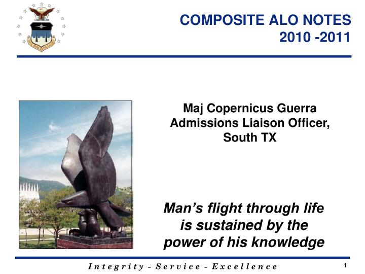 composite alo notes 2010 2011 n.