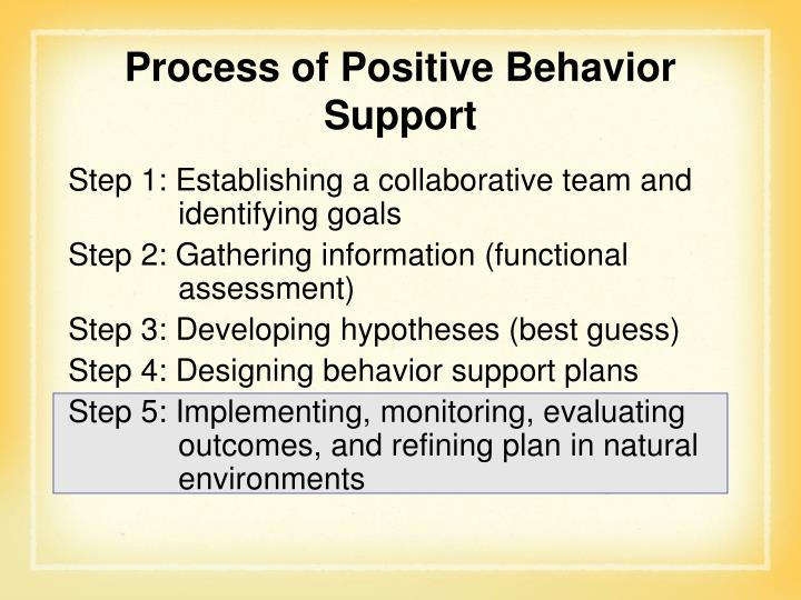 Step 1: Establishing a collaborative team and identifying goals
