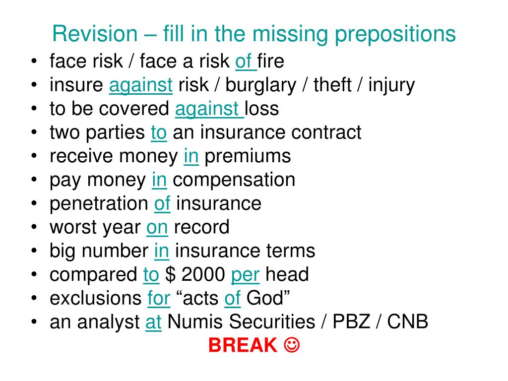 PPT - Insurance PowerPoint Presentation - ID:5387604
