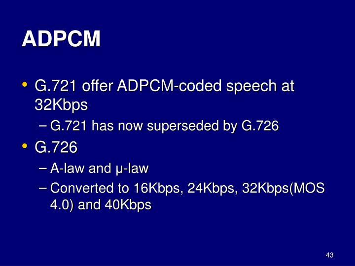 ADPCM