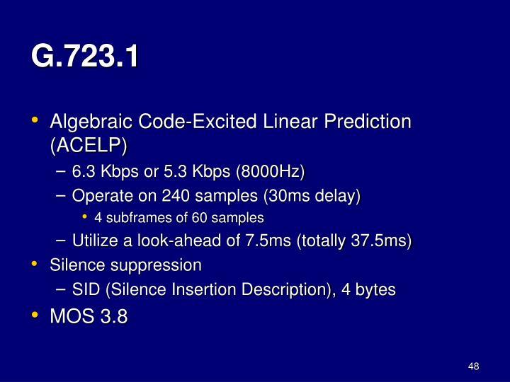 G.723.1
