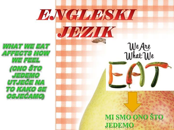 ENGLESKI JEZIK