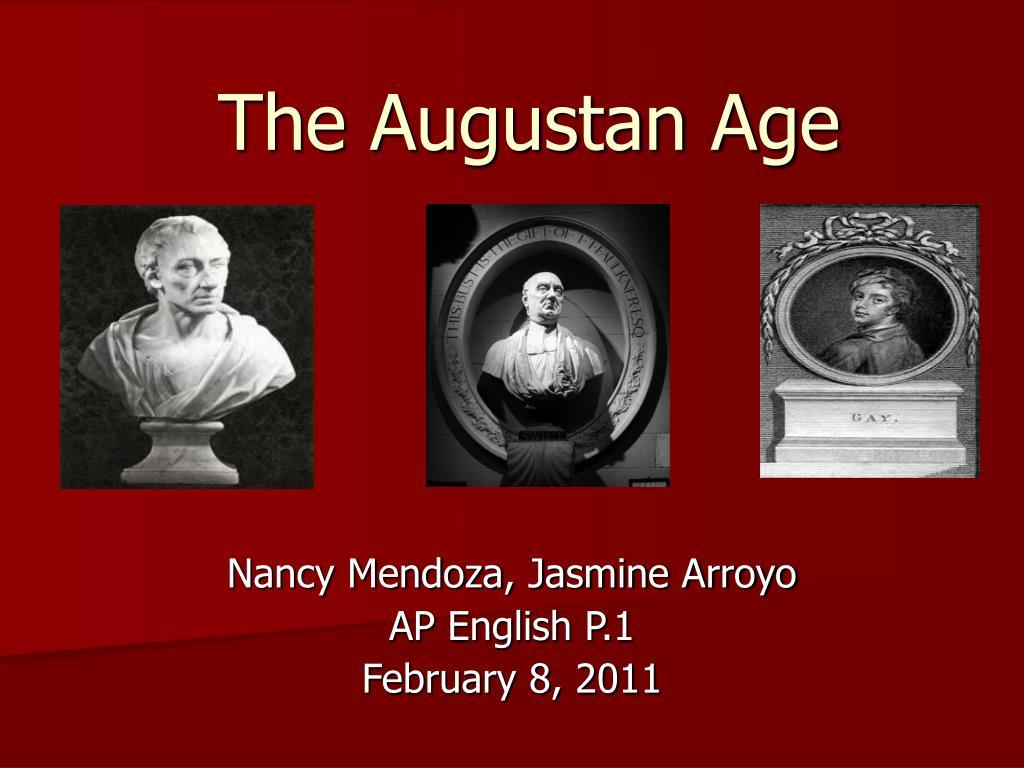 augustan age author