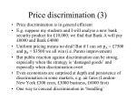 price discrimination 3