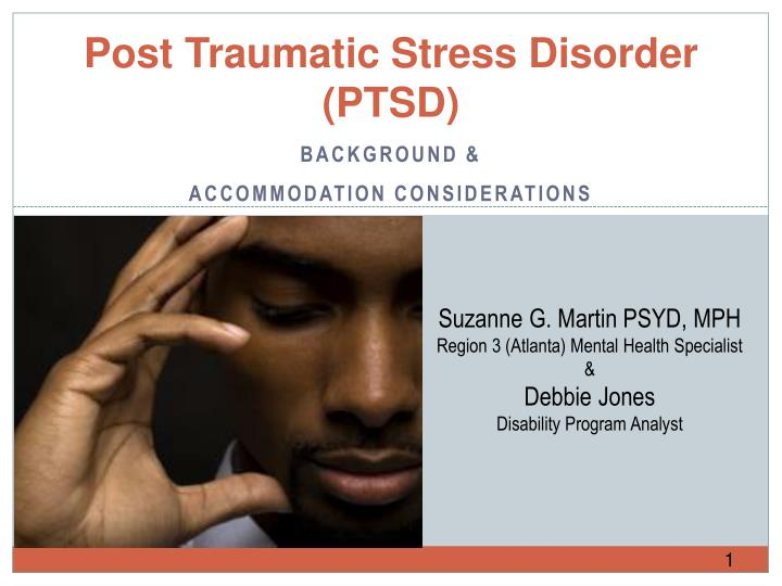 essay about post-traumatic stress disorder High school level essay: post traumatic stress disorder.