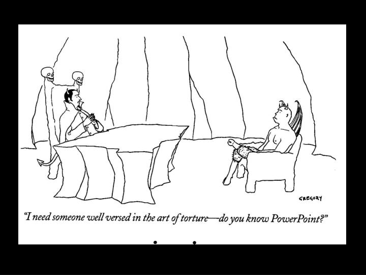 new yorker on power point n.