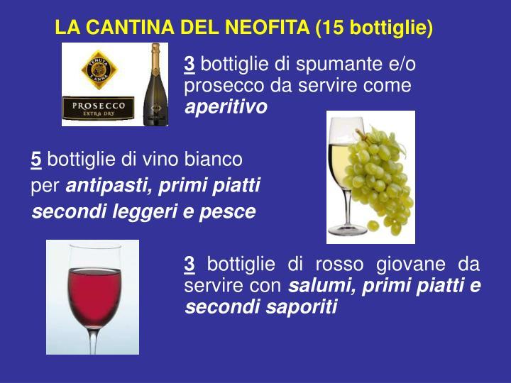 LA CANTINA DEL NEOFITA (15 bottiglie)