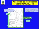 adsorci n de isopropanol sobre moo 3 tio 2 na