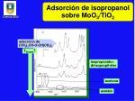 adsorci n de isopropanol sobre moo 3 tio 2
