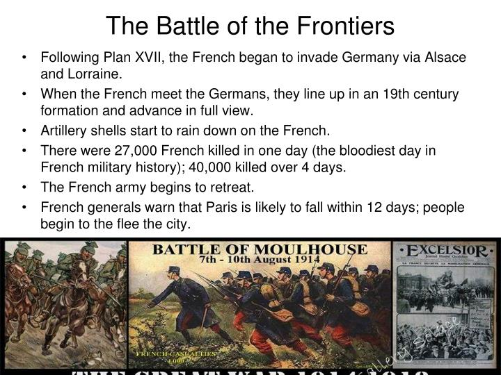 The Battle of the Frontiers