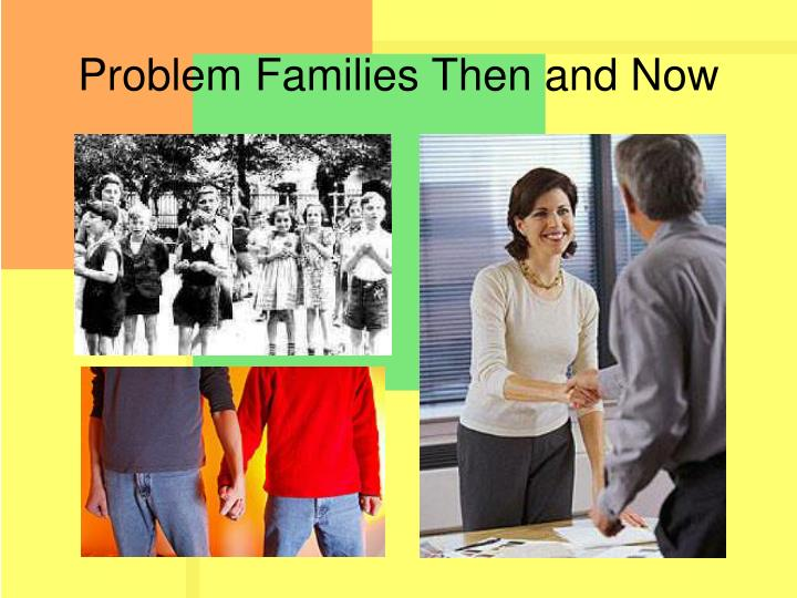 Problem Families Then and Now