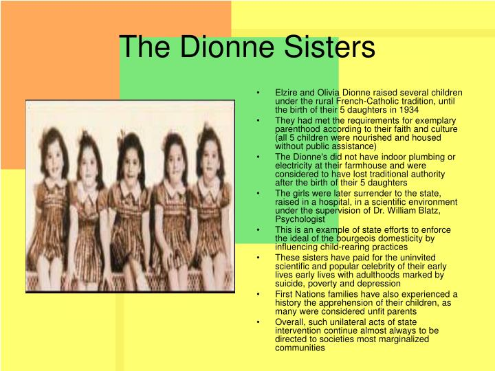 The Dionne Sisters