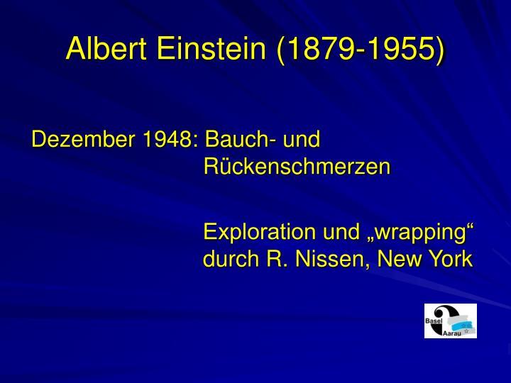 Albert einstein 1879 1955