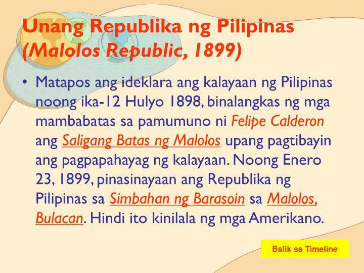 kalayaan ng pilipinas The philippine declaration of independence was proclaimed on june 12, 1898 in  cavite ii el  paggawa ng pagpapahayag ng kasarinlan ng sambayanang  pilipino), filipino revolutionary forces under general emilio aguinaldo  proclaimed.