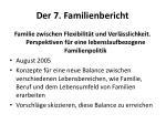 der 7 familienbericht