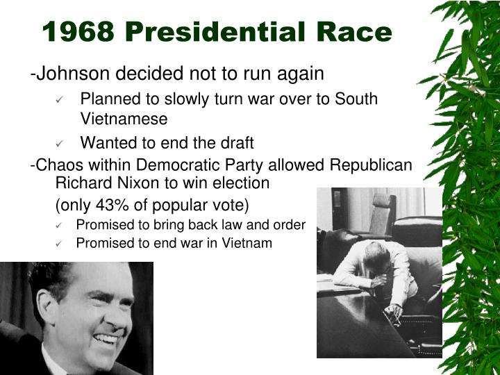1968 Presidential Race