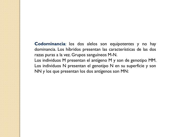 Codominancia