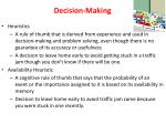 decision making1