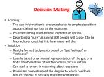 decision making3