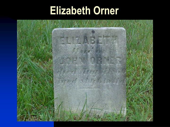 Elizabeth Orner