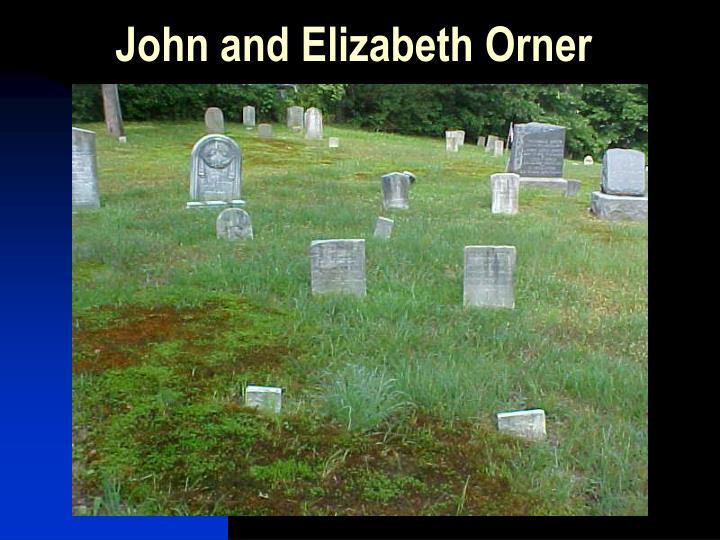 John and Elizabeth Orner