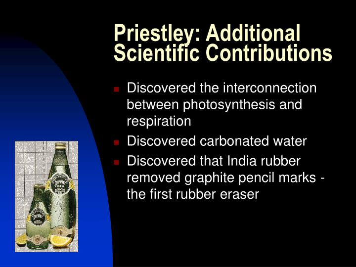 Priestley: Additional Scientific Contributions