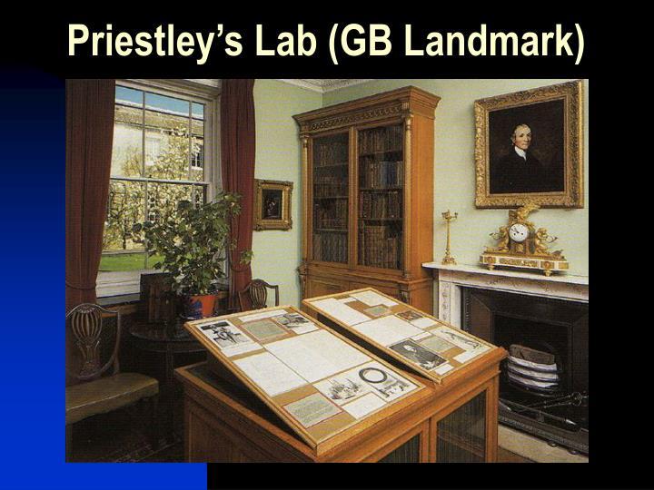 Priestley's Lab (GB Landmark)
