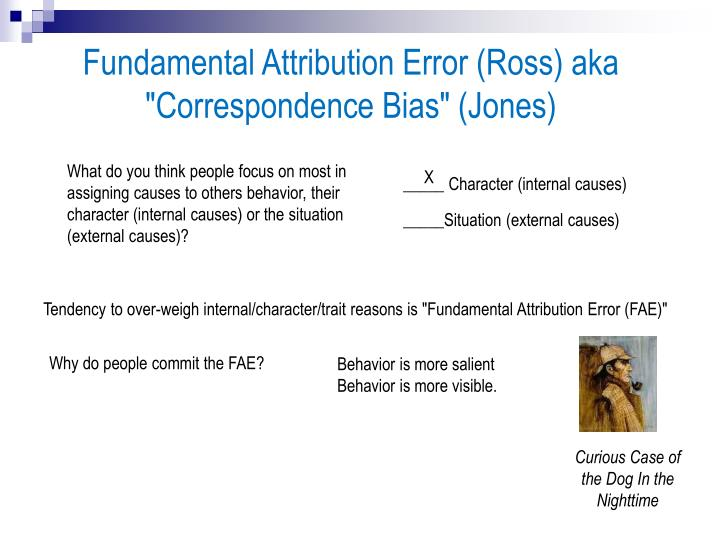 business essays fundamental attribution bias A cognitive bias like fundamental attribution error, confirmation bias or hyperbolic discounting lead to terrible life choices for your future self best articles hooked book.