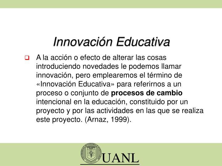Innovaci n educativa