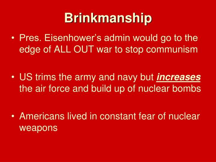 Brinkmanship