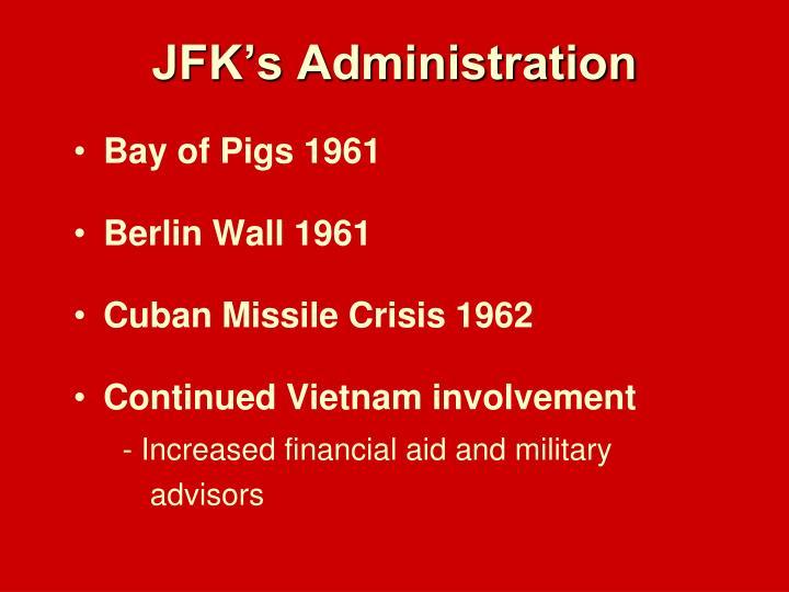 JFK's Administration