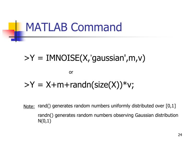 MATLAB Command