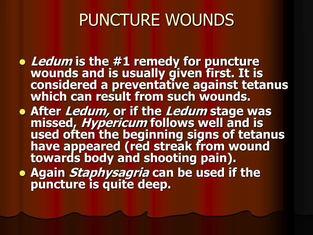 PPT - Homeopathic Remedies For First Aid PowerPoint